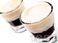 Шотове Сомбреро (Sombrero) с кафеен ликьор калуа и сметана